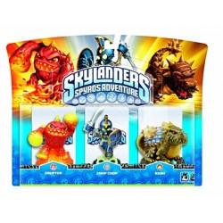 Skylanders - Pack de figurines Chop Chop + Bash + Eruptor