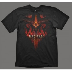 DIABLO III T-Shirt Burning