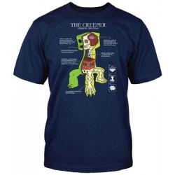 MINECRAFT T-Shirt Creeper Anatomy L