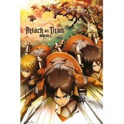 Poster Attack On Titan Modele 2