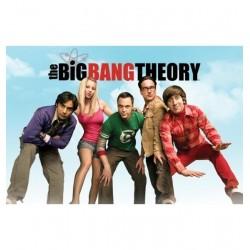 Poster Big Bang Theory Modele 2