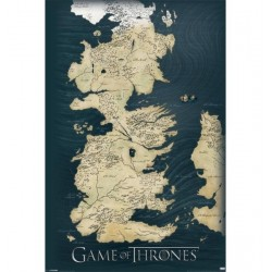 Poster Game Of Thrones Modele 1
