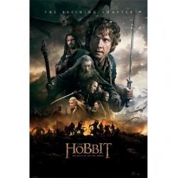 Poster Hobbit 3 Modele 1