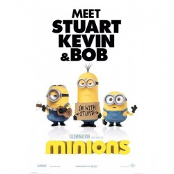 Poster Minions Modele 5