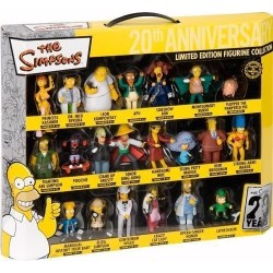 Simpson Coffret 21 Figurines 20Th Anniversary
