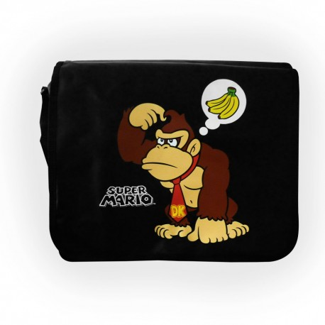 Nintendo - Bag With Reversible Flap Mario&Donkey