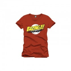 Big Bang Theory: Bazinga Men Red