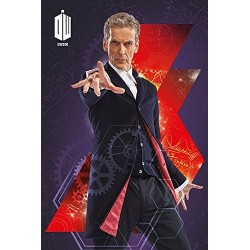 Poster Doctor Who Modèle 8