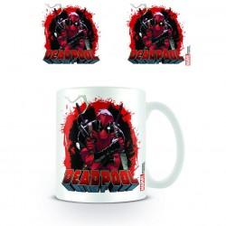 Mug Deadpool Smoking Gun