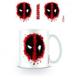 Mug Deadpool Splatter Logo