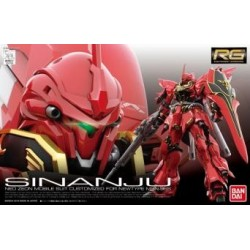 Maquette RG 1/144 Gundam MSN-06S Sinanju