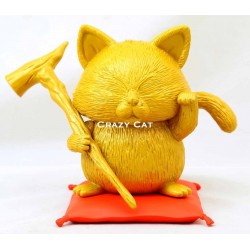 Figurine Chat Fortune Korin Or