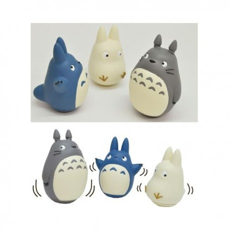 Pack 3 Mini Figurines Totoro