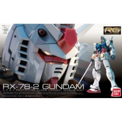 Figurine BANDAI RG 1/144 RX-78-2 GUNDAM