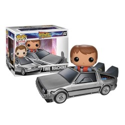 Figurine FUNKO POP retour vers le futur - Marty & Dolorean
