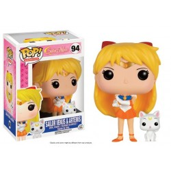 Figurine FUNKO POP Sailor Moon - Sailor Venus et Artemis