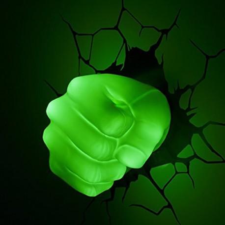 lampe poing de Hulk