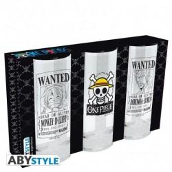 Set de 3 verres One Piece 29cl