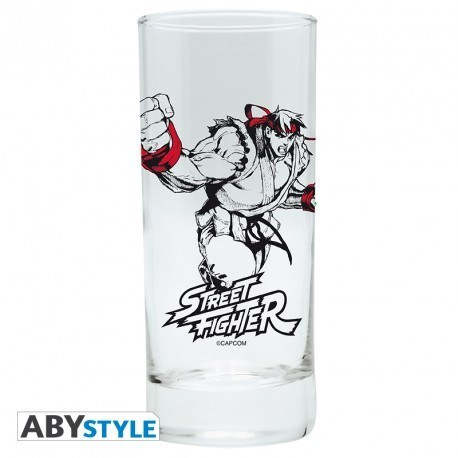 Verre Street Fighter Ryu 29cl