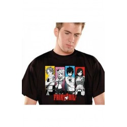 T-shirt Fairy Tail : La guilde