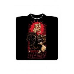 T-shirt Hokuto no Ken : Raoh & Kokuoh