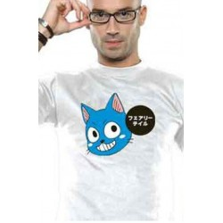 T shirt Fairy Tail Happy patch
