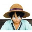 One Piece - Creator X Creator - Luffy cravate noire - Banpresto