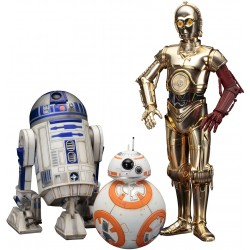 Pack avec R2-D2, C-3PO et BB-8