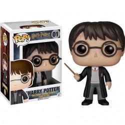 Figurine Funko Pop Harry Potter : Harry et sa baguette
