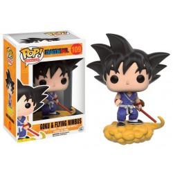 Figurine Funko Pop DBZ : Goku et flying nimbus