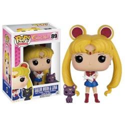 Figurine Funko Pop Sailor Moon : Sailor Moon et Luna