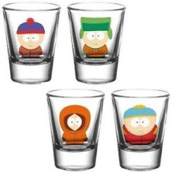 Verres shooter South Park