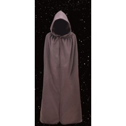 Cape Jedi Star Wars marron foncée