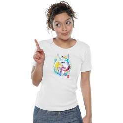 T-shirt Nekotoro Blanc
