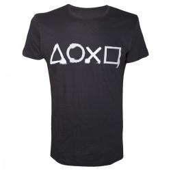 T-Shirt bouton playstation
