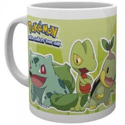 Mug Pokemon Grass Partners