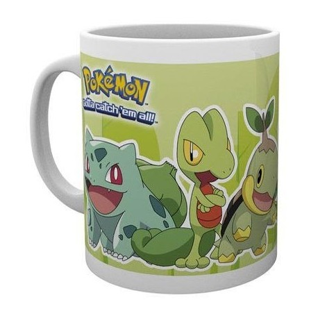 Mug Pokemon Grass Partners