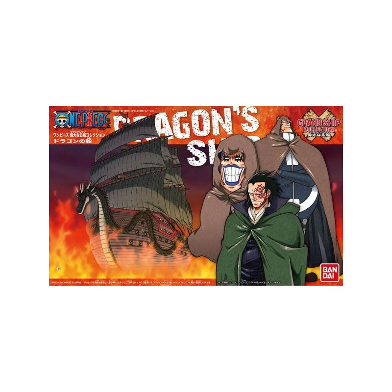 maquette one piece grandship collection dragon 39 s warship king games. Black Bedroom Furniture Sets. Home Design Ideas