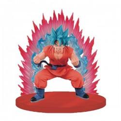 Figurine BANPRESTO DBZ son Goku God Super saiyan Kaioken Blue