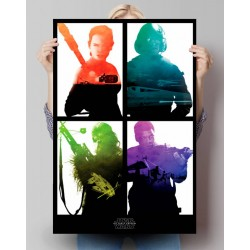 Poster Star Wars 7 Modèle 1