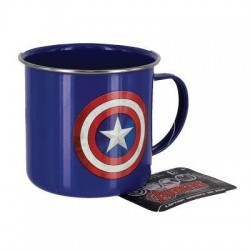 Mug Captain America Tin