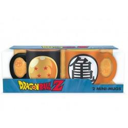 Mug Dbz X2 Mini Boule Cristal et Kame