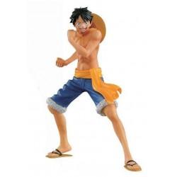 Luffy Short Bleu Banpresto Naked