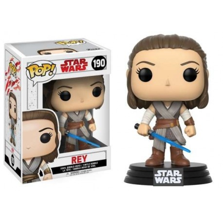 Pop! Star Wars E8 Tlj: Rey