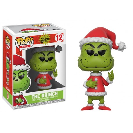 Pop! The Grinch Santa