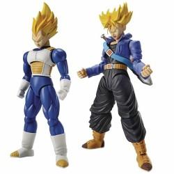 Maquette Super Saiyan Vegeta + Trunks Bandai Figure Rise
