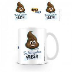 Mug Emoji Caca Toilet Water