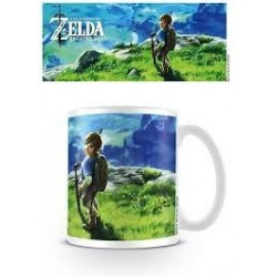 Mug Zelda Breath. Paysage