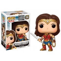 Figurine FUNKO POP Justice League Wonder Woman