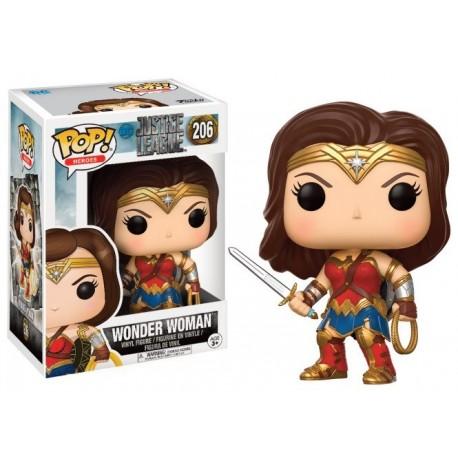 Figurine FUNKO POP Justice League Wonder Woman